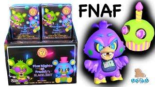 ФНАФ! Фредди, Бонни, Чика и Фокси в Черном Свете FNAF Видео для детей! Мультик c My Toys Potap