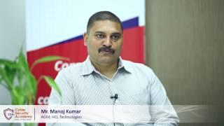 Mr. Manoj Kumar, HCL Technologies   Cyber Security Academy launch by Skill Cube