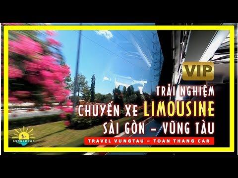 Trải Nghiệm Chuyến Xe LIMOUSINE Từ Sài Gòn đi Vũng Tàu | Travel Vung Tau | Lang Thang Vũng Tàu