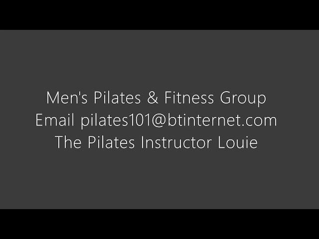 Mens Pilates on the ball