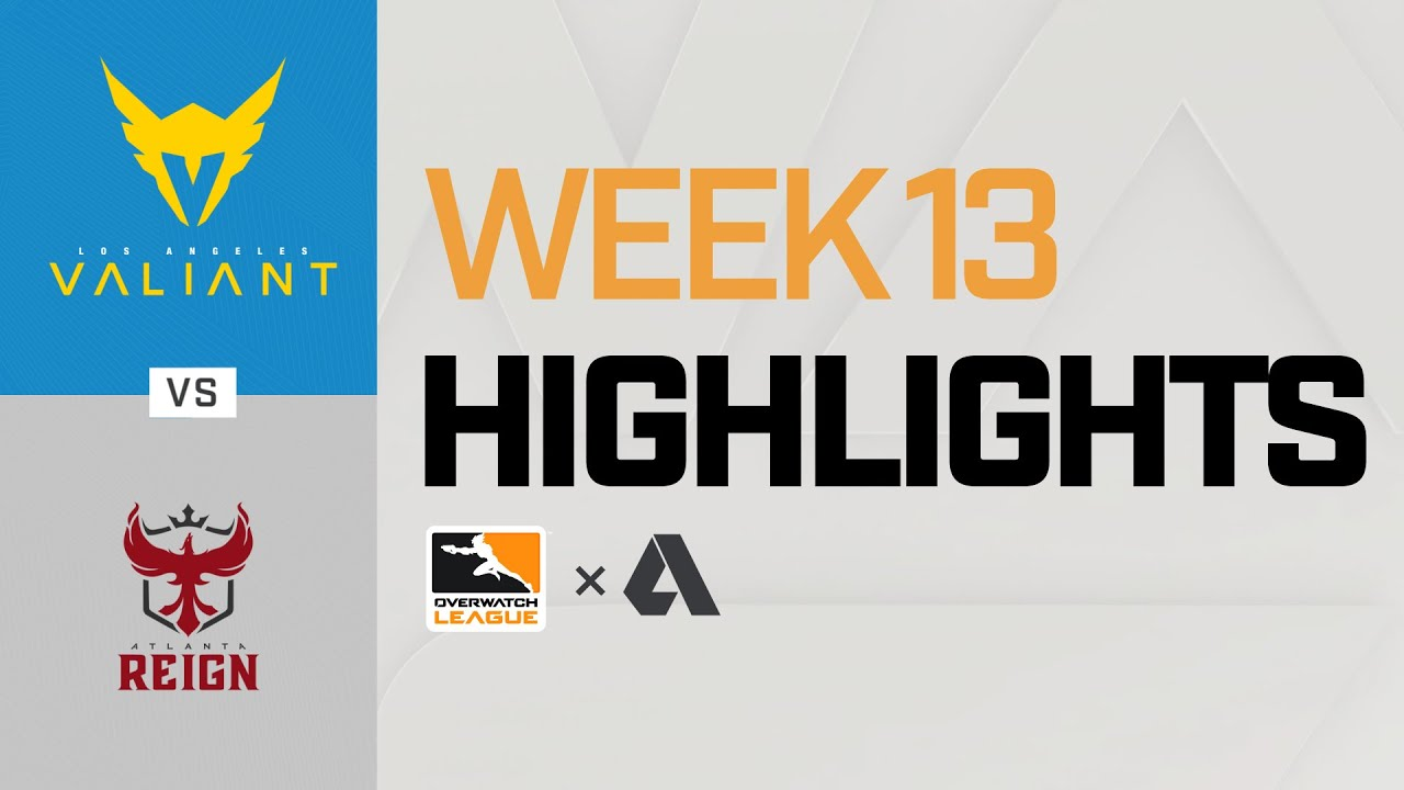 Akshon Highlights Los Angeles Valiant Vs Atlanta Reign Week 13 Day 1 Part 2 Youtube