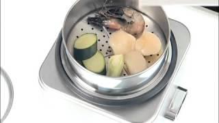 Рисоварка/кашеварка Cuisinart CRC800E 2.5 л электрическая видеообзор(Приобрести рисоварку/кашеварку Cuisinart CRC800E вы можете здесь ..., 2015-12-17T15:02:54.000Z)