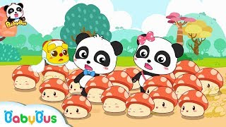 Where Do Mushroom Fairies Take Baby Panda to? | Math Kingdom...