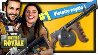 TOP 1 AVEC L'ARME Á TAMBOUR ! FORTNITE DUO FR