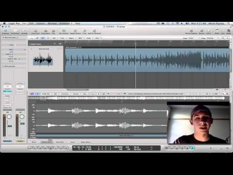 Logic Pro 9 Tutorial - Changing Tempo/Speed of Audio Tracks
