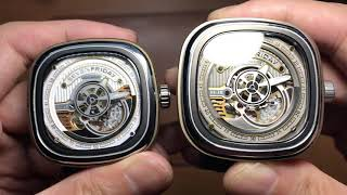 Comparison between fakes / clones / replicas and authentic / original / real Sevenfriday S2 Series