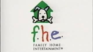 FHE logo (1998-2005) with Artisan Ent. byline (Clifford edition)
