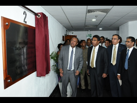 Ceremonial opening of new premises of Consular Affairs Division of the Foreign Ministry