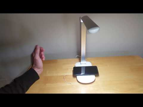 Tzumi Wireless Charging Lamp From Walmart The Good, Bad and Ugly Review