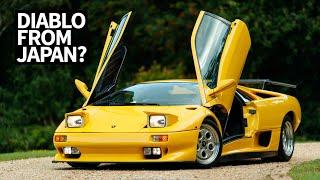 Lamborghini Diablos Exist in the Wild?? Plus, UK Dream Car Garage Tour