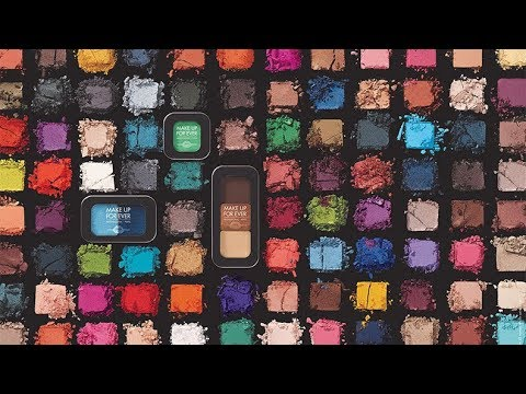 * NEW & REFORMULATED * Make up for ever ARTIST COLOR SHADOWS  Swatch & Review