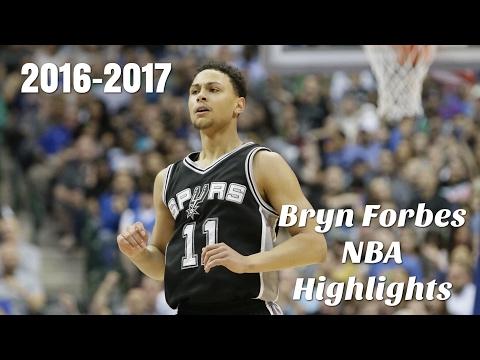 Bryn Forbes NBA Highlights 2016-2017