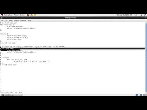 Resolve rndc error in RHEL/CentOS 6 { neither /etc/rndc.conf nor /etc/rndc.key was found }
