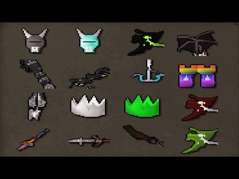 Loot From 100 Gift Of Darkness *UNIQUE CUSTOMS* - Manic (RSPS)