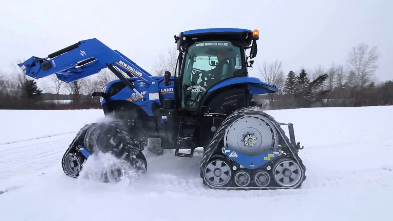 Zuidberg Tracks New Holland T7 210 White Thunder Riders