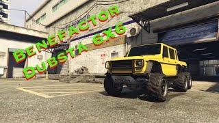 Тюнинг в gta 5 с Флексом | Benefactor Dubsta 6X6