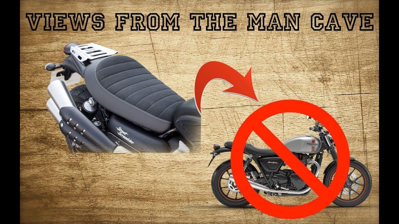 Why a Triumph Street Scrambler seat WON'T fit on a Street Twin! - YouTube