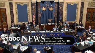 Both sides debate amendments to impeachment trial rules thumbnail