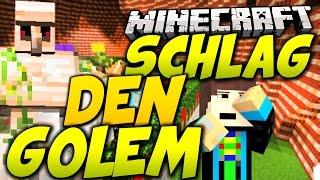 STRAFE muss sein! - Minecraft: SCHLAG DEN GOLEM - Eigener Spielmodus in Minecraft