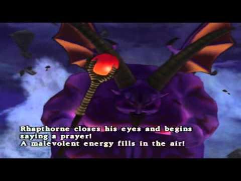 Dragon Quest VIII Walkthrough Part 50: FINAL BOSS: Rhapthorne