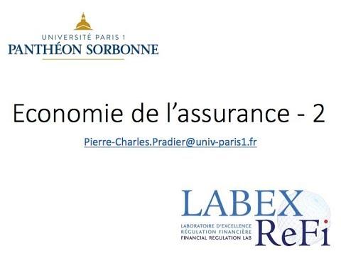 économie de l'assurance - cours 2
