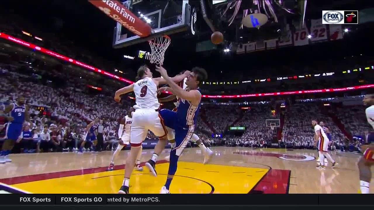 NBA, playoff 2018, 76ers vs. Heat, Round 1, Game 3, Move ...