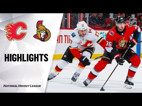 NHL Highlights   Flames @ Senators 1/18/20