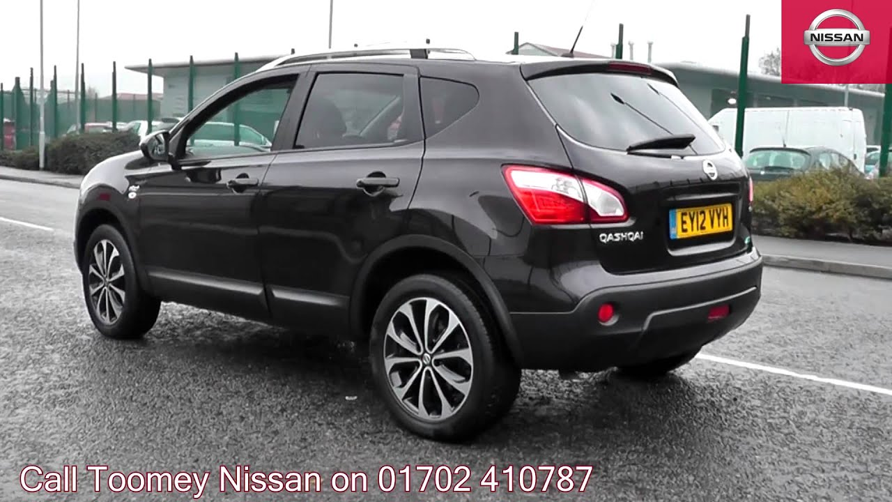 2012 nissan qashqai n tec is nightshade ey12vyh for sale at toomey nissan southend youtube. Black Bedroom Furniture Sets. Home Design Ideas