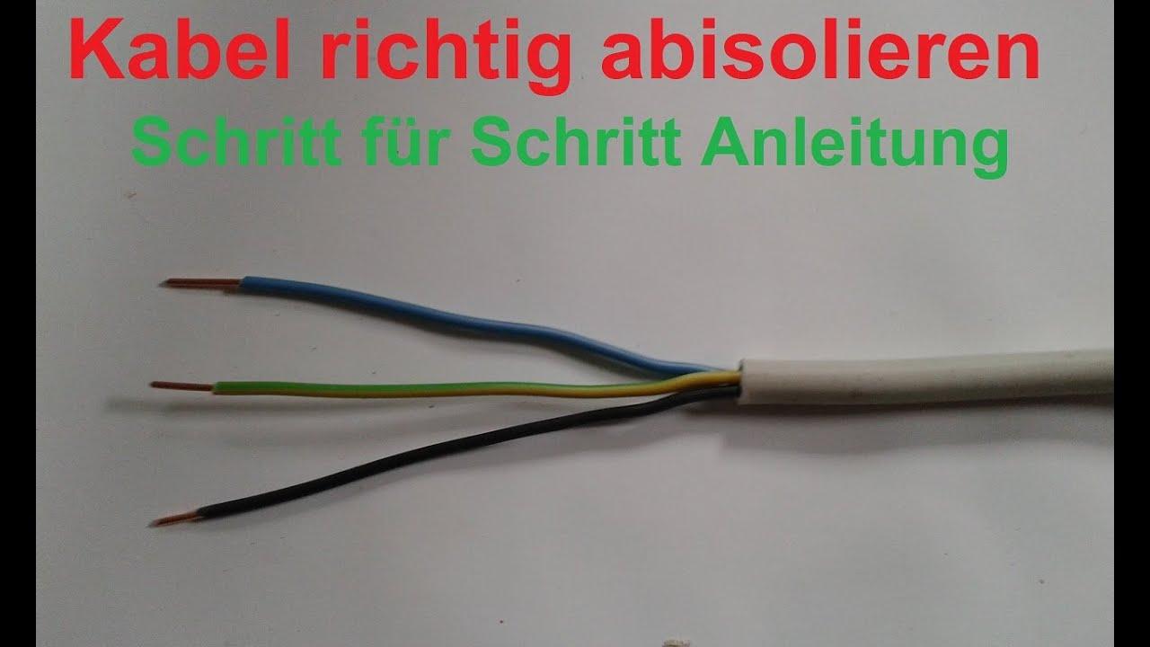 Lampe Anschliessen Farben Strom Anschliessen Stromschalter Mit Strom