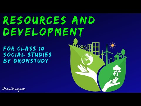 Resources and Development : CBSE Class 10 X | Social Studies | Video Lecture