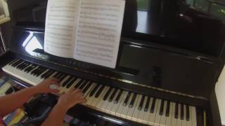 Fantasia in C Major by Georg Philipp Telemann RCM piano repertoire grade 5 2015 Celebration Series