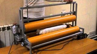 Машина для валяния шерсти в рулоне для Елены