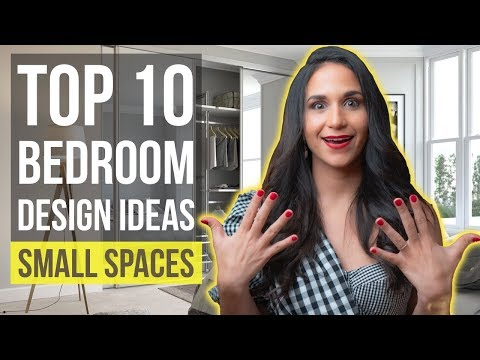 Top 10 Interior Design Ideas and Home Decor for Small Bedroom