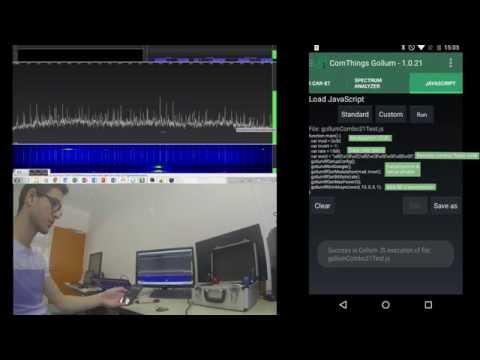 GollumRF: Replace a remote control using GollumRF JavaScript Engine