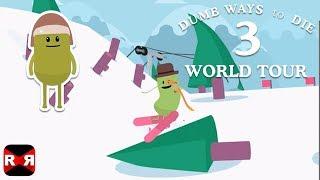 Dumb Ways To Die 3: World Tour - Dumb Peak Area Gameplay