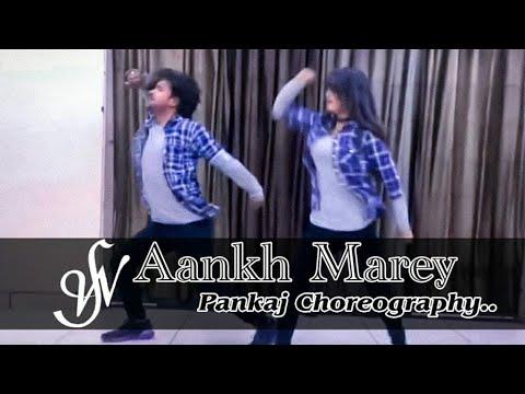 AANKH MAREY | SIMMBA | RANVEER SINGH | PANKAJ CHOREOGRAPHY | MEHMI CREATION | SWAGGERS CREW