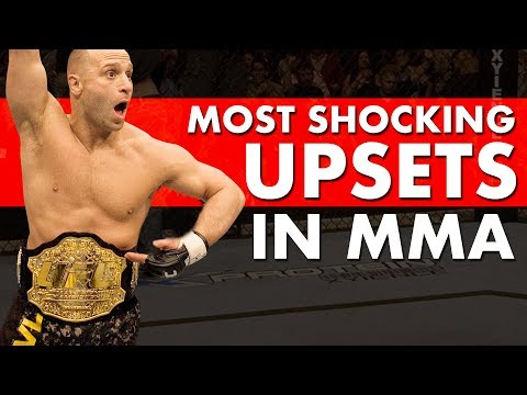 The 10 Most Shocking Upsets in MMA