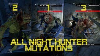 Скачать Dying Light ALL Night Hunter Mutations SHOWCASE
