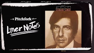 explore leonard cohens songs of leonard cohen in 5 minutes liner notes