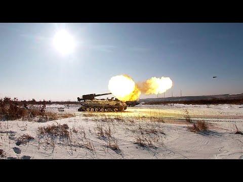 «Акации», «Тюльпаны» и «Гиацинты» ВВО вышли на боевые стрельбы