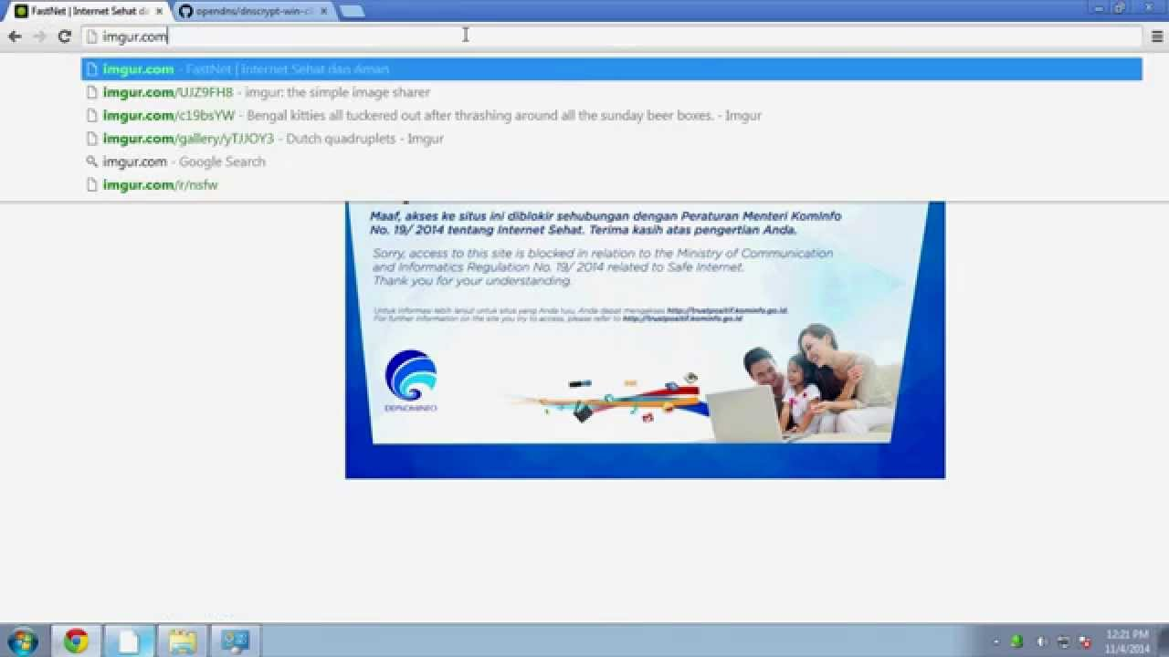 How To Access Blocked Website With DNSCrypt - Internet Sehat, Internet  Positif