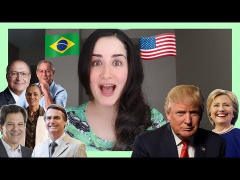 Eleições no BRASIL x EUA 🇧🇷 🇺🇸