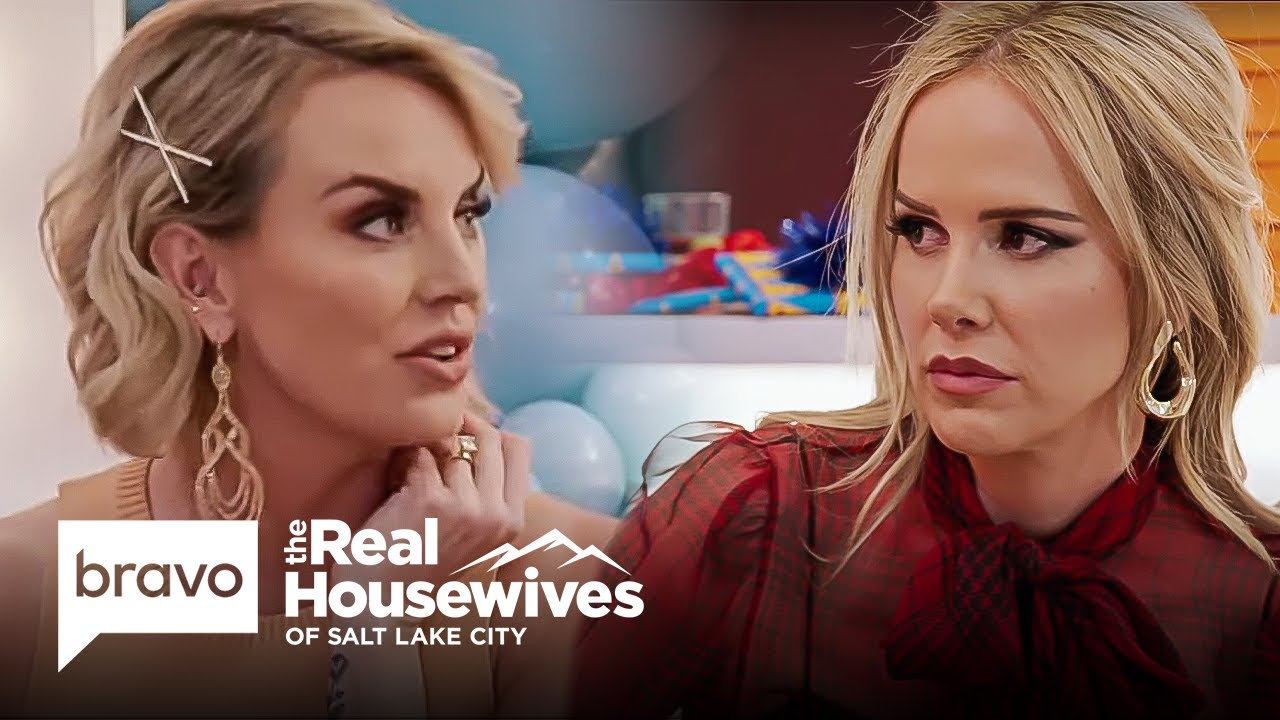 Download Whitney Brings Angie New Information About Her Feud with Lisa | RHOSLC Highlight (S2 E7)