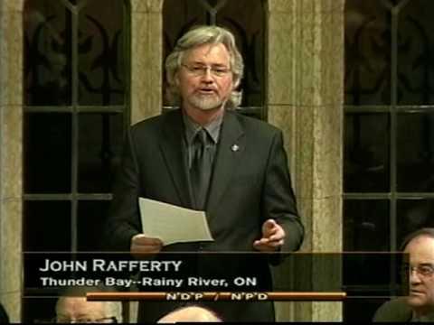 John Rafferty, MP (Thunder Bay - Rainy River) - Post Secondary Funding for Aboriginal Students