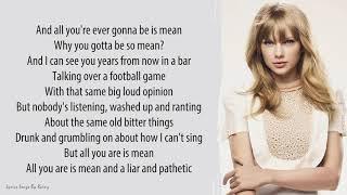 Download Lagu Taylor Swift - Mean | Lyrics Songs mp3