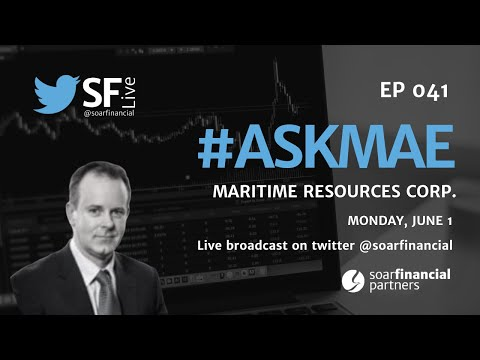 SF Live Ep 41 - Maritime Resources Corp.