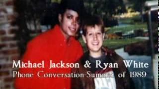 Phone Call Between Michael Jackson & Ryan White (June 26,1989) Exclusive