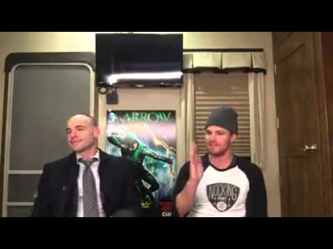 Arrow's Stephen Amell Facebook Q&A (with Paul Blackthorne) - Part 1 | March 4, 2015