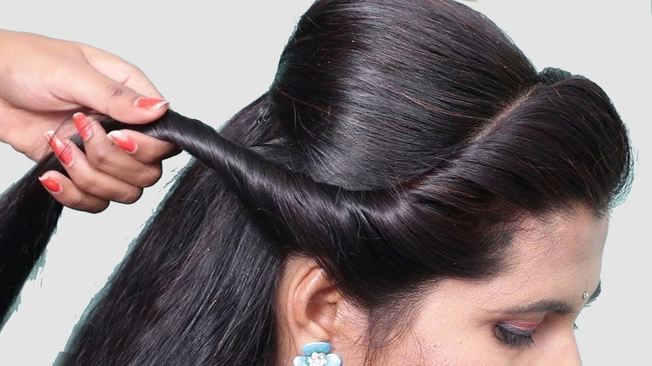 easy hairstyles with trick