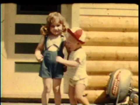 1952 Waskesiu Bonney Jeanne Walters Shoquist Jimmy Cabin Saskatoon Birthday 20th Street